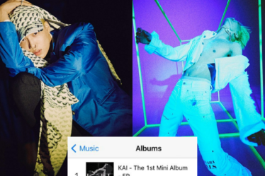 'KAI' Peaks At #1 On iTunes India Songs And Albums Chart With 'Mmmh'