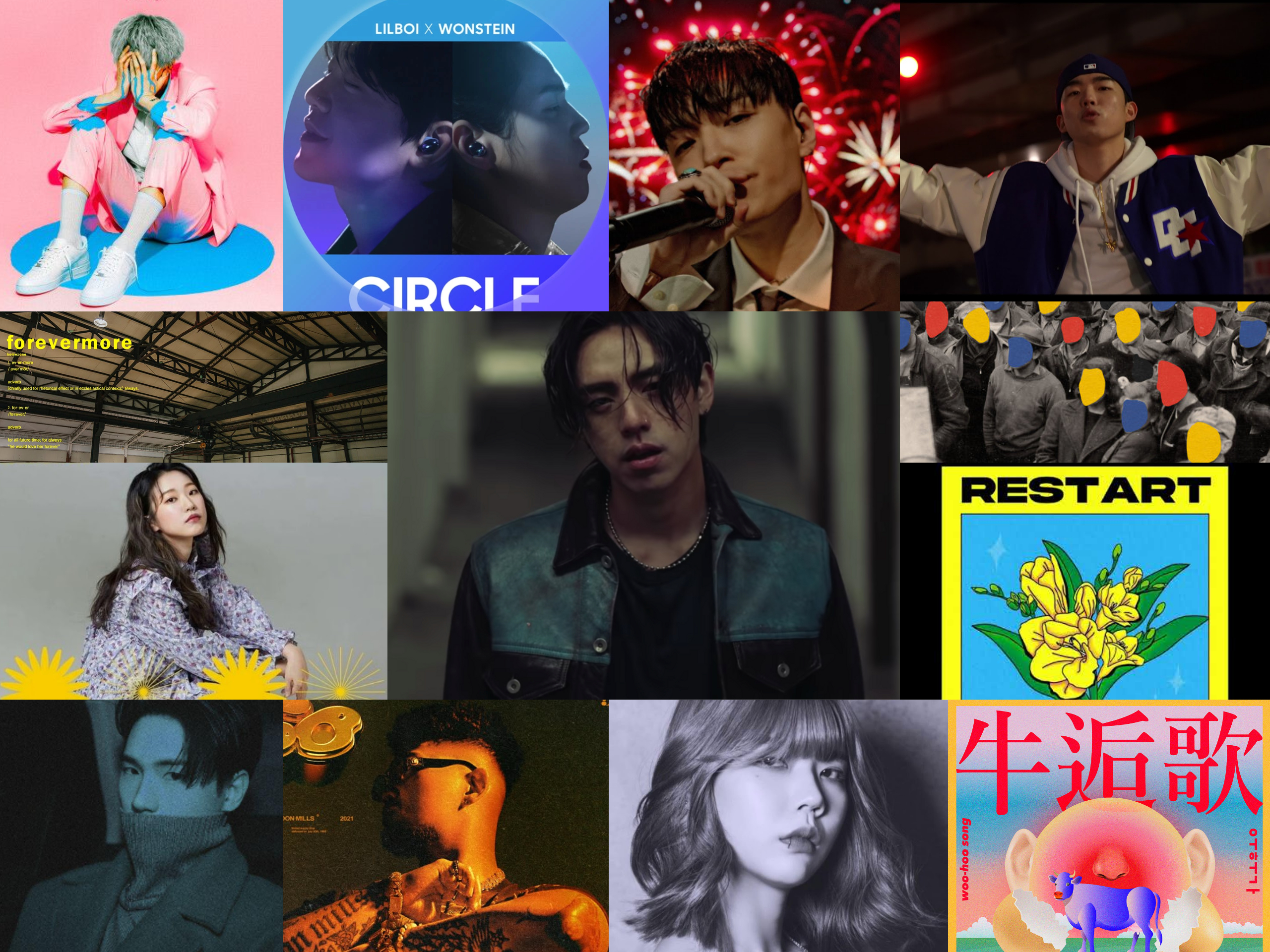 WEEKLY KOREAN HIPHOP-R&B + INDIE REVIEW & STREAMING GUIDE (9th March – 15th March)