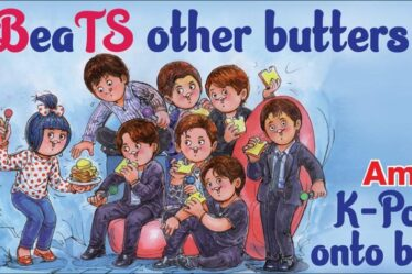 AMUL Topical featuring BTS
